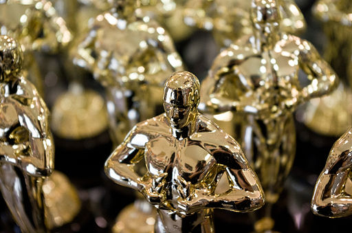 Replicas of Academy Award statuette