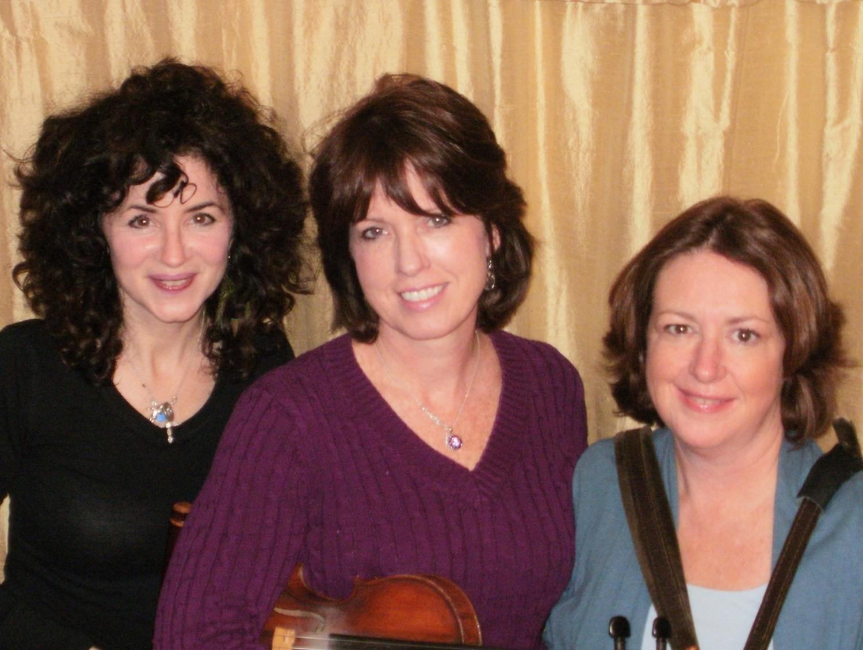 Irish Music Teachers Margie Mulvihill, Rose Flanagan, Patty Furlong