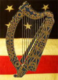 IAWA Flag and Harp