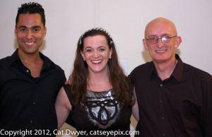Christopher Armstrong, Darrah Carr and John Redmond