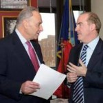 Senator Charles Schumer Unveils New Irish Visa Bill
