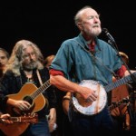JUDY COLLINS, PETE SEEGER AND TOM PAXTON AT THE IAW&A O'NEILL EVENT 10/15/12