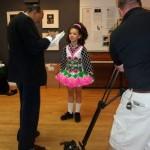 Jig dancers at the Irish Arts Center