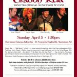 Craobh Rua at the Folk Project, Sunday April 3