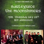 Barleyjuice and the Moonshiners at Connolly's July 28th!