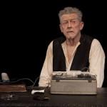 John Hurt in Krapp's Last Tape