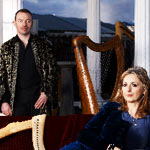 Moya Brennan and Cormac de Barra, lunchtime today! 12:30 pm at 23 Park Row (J&R NYC Music World and Computer downtown)