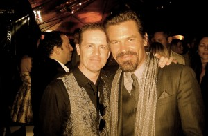 Colin Broderick and Josh Brolin