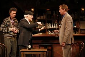 John Keating (Jim), Dan Butler (Jack) and Sean Gormley (Finbar), @Carol Rosegg