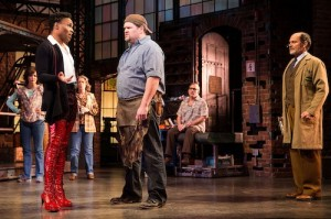 Billy Porter, Daniel Stewart Sherman, and Marcus Neville (right). (c)Matthew Murphy