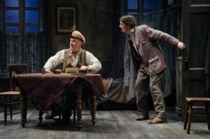 "Ciarán O'Reilly (as ""Captain"" Jack Boyle) and John Keating (as Joxer Daly), ©James Higgins"