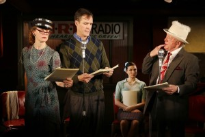 Kristin Griffith, Howard McGillin,  Haley Bond, Peter Maloney (©Carol Rosegg)