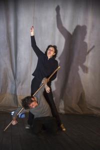 Fiona Shaw and Daniel Hay-Gordon (©Richard Termine)