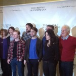 Meeting a wizard: Daniel Radcliffe and cast of 'The Cripple of Inishmaan'