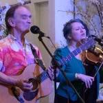 Martin and Eliza Carthy at Church of St. John, Friday April 10, 2015