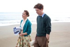 Saoirse Ronan and Domhnall Gleeson