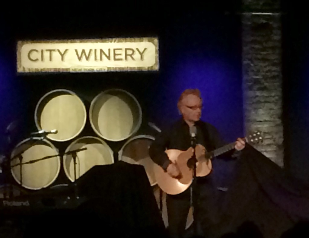 Paul Brady at City Winery - November 10, 2015
