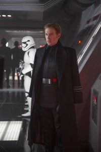 Dubliner Domhnall Gleeson as General Hux in Star Wars: The Force Awakens. (Photo courtesy of Disney/Lucasfilm.)