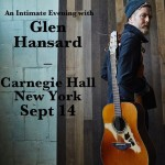 Glen Hansard at Carnegie Hall