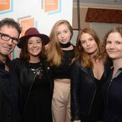 Niall McKay, Cathy Brady, Séana Kerslake, Nika McGuigan and Ailish McElmeel at the screening of Can't Cope, Won't Cope