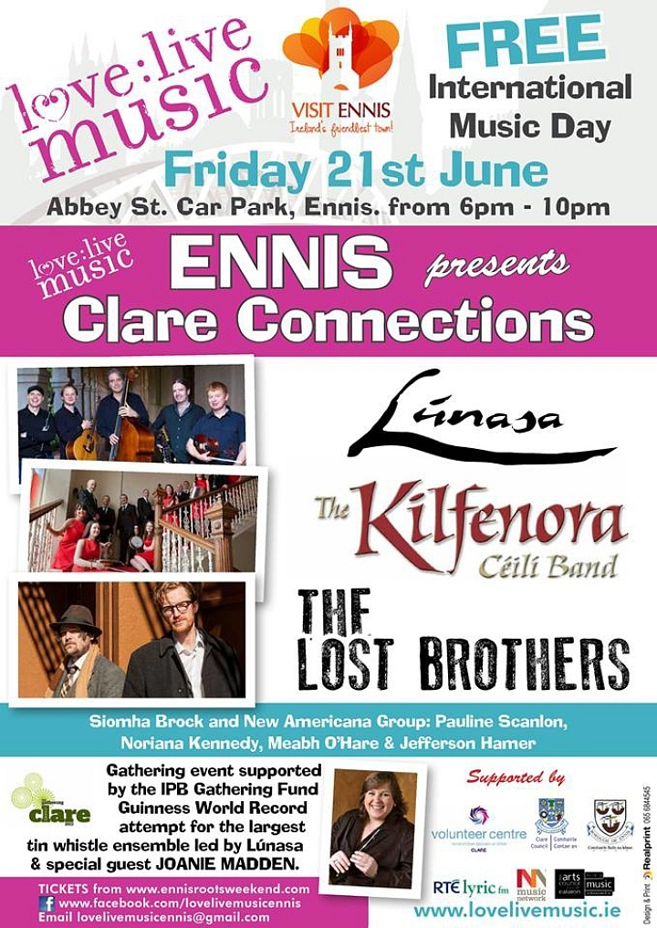 Ennis Roots Music Festival coming up! | New York Irish Arts